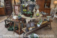 thecottagemoon.com / Pictures from inside our store in Traverse City, MI. / by cottage moon, Carol Buckel