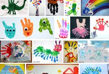 Hand and Footprint Crafts