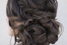 Wedding hair winter