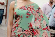 Sleeve less saree blouse