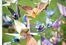 Origami for your wedding seating plan / See http://www.toptableplanner.com/blog/diy-origami-wedding-accessories for more ideas.