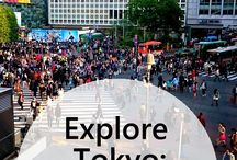 Tokyo / Explore Tokyo: A guide to shopping and entertainment in Shibuya, Tokyo, Japan.