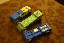 pinewood derby / cars / by Chris May