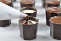 Chocolate cups