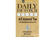 Detox Tea / A selection of #detox teas to help jump-start a healthy lifestyle! #wellness