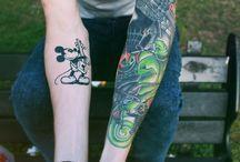 Disney Sleeve Tatts / Ideas of other peoples Disney Tatts