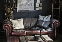 interior decoration: rustic mood