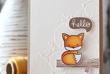 Cards - Embossing Paste Ideas