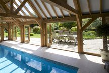 Pool Buildings / Our Prime Oak Pool Buildings are stunning over pool covers and pool side buildings.