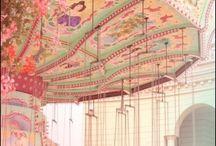 Vintage carousels