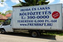 Költöztetés Budapest / Modern jól felszerelt teherautóinkkal költöztetünk Budapesten. A budapesti költöztetés, bútorszállítás, fő profilunk.  http://www.freshkft.hu/koltoztetes-budapest