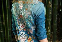 camisas bordadas