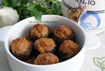 Ricette - Contorni carne, verdure, formaggi ( o antipasti )