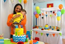 1st birthday for ALEX / by Jacklyn Begley-Wilkey