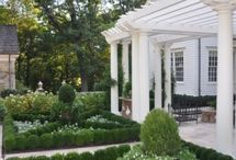 White & Green Landscaping / by Wolfe Design House