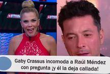 Gaby Crassus incomoda a Raúl Méndez con pregunta ¡y él la deja callada!
