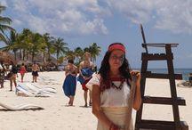 travesia maya 2014 / imagenes,con los equipos y las ceremonias