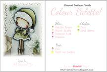 Keeley's color palets