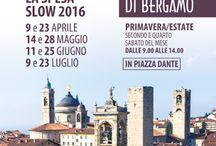 I Mercati della Terra: il secondo e quarto sabato del mese dal 9 aprile al 23 Luglio Bergamo