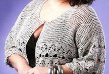 одежда для полных вязание