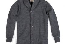Shawl Sweaters / Equal parts sweater and coat, Dehen's shawl cardigan debuted in the mid 1920's, and was the style of choice for varsity letterman for over a decade. True to the original, Dehen's Shawl Sweater Coat uses over three pounds of worsted yarn.