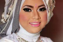 weding hijab style