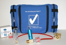 Compressed Air Testing Kits and Samplers - the AirCheck Lab Catalog / Testing the quality of your compressed air or gas has never been easier!  We offer affordable, analytically tested and easy to use air testing kits.  We are A2LA Accredited and have been proudly serving customers worldwide since 1989.  See why the industry chooses to work with Trace Analytics.  Contact Us for more Info. AirCheckLab.com