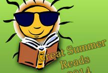 Great Summer Reads! / Summer is a great time to catch up on your TBR pile!  Join me each Tuesday on my blog for a fantastic summer read and other fun summer reading ideas.  Follow me on Facebook and Twitter #greatsummerreads.