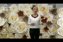 мастер класс цветы из изолона бумаги