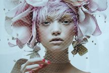 floral head piece