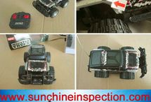 toy car quality inspection