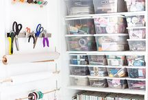 Home: Craft room organizing