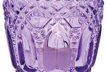Purple glass / by Nancy Violette
