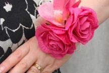 Cerise Pink Wedding Theme / Ideas for a cerise wedding theme including wedding flowers.