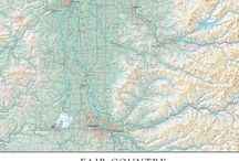 Benchmark Services / In addition to our line of folded maps and atlases, we provide custom cartography services for both personal and commercial use. If you are looking for high quality cartographic content to represent your company, organization, or just to display proudly on your wall, we can help make that happen.