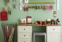 crafting room