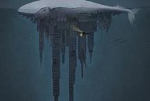 Ocean Art / Celebrating the ocean through art. / by Andrew Thaler