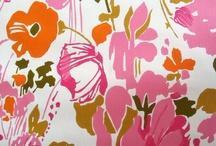 textiles, patterns, fabrics, wallpaper / by Christina Baker
