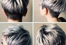 Korte Kapsels Grijs Haar