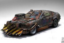 .. for a post apocalyptic car