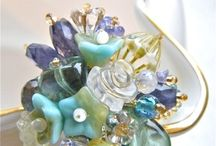 korálkové inšpirácie - prstene