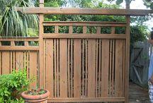 Japanese Style Fences