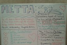 Yoga Teacher Visuals: My Yoga Class Boards LauraGYOGA / The visuals I create when teaching classes