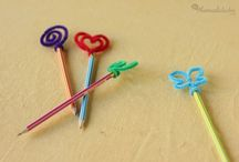 lápiz decorado