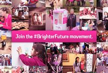 The movement for a #BrighterFuture / Girls' rights are human rights. Yet, millions of girls around the world are denied opportunities for a brighter future. Together, we can change this.  Join the movement to create a #BrighterFuture for girls! Share how you're supporting a brighter future for girls by tagging your photos and messages with #BrighterFuture. We'll pin some of our favourite ones here!  Visit http://becauseiamagirl.ca/brighterfuture to be part of the movement.