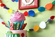 Birthday day party ideas / by Maria Paquette