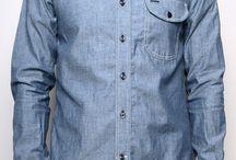 Rogue Territory Blue Chambray Jumper Shirt