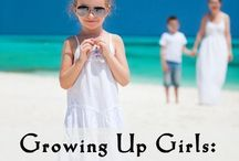 RAISING GIRLS / Parenting tips and advice for raising girls and keeping your daughters happy and healthy.