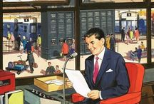 Vintage illustrations from the 40th 50th and 60th