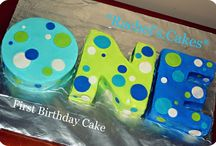 Cake Ideas / by Brianne Johnson